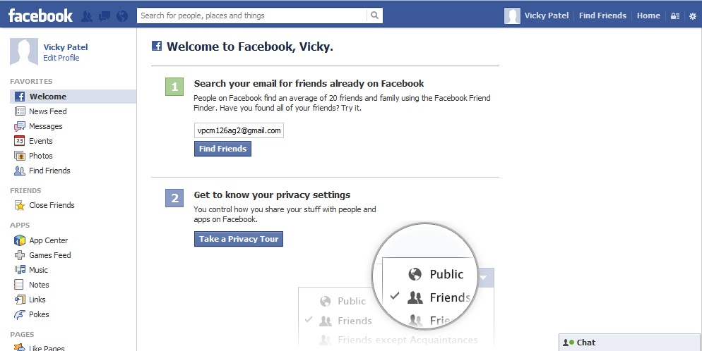 How to Create a New Facebook Account step 6
