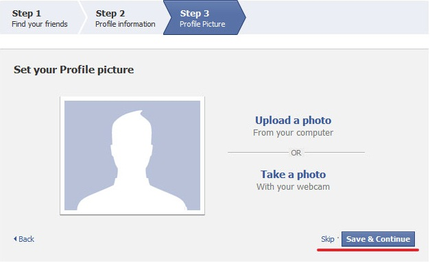 How to Create a New Facebook Account step 5